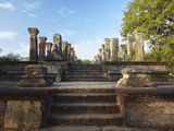 Audience Chamber, Island Gardens, Polonnaruwa, UNESCO World Heritage Site, Sri Lanka Photographic Print by Ian Trower