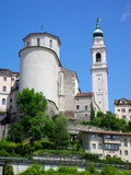 Duomo of San Martino and Juvarra Bell Tower, Belluno, Province of Belluno, Veneto, Italy, Europe Photographic Print by Frank Fell