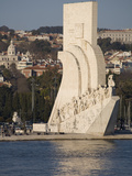 River Tagus and Monument to the Discoveries, Belem, Lisbon, Portugal, Europe Photographic Print by Rolf Richardson