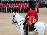 Soldiers at Trooping Colour 2012, Queen's Official Birthday Parade, Horse Guards, London, England Photographic Print by Hans-Peter Merten