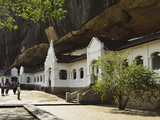 Dambulla Cave Temple, UNESCO World Heritage Site, Dambulla, Sri Lanka, Asia Photographic Print by Jochen Schlenker
