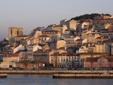 Cathedral and Alfama District at Dawn, Lisbon, Portugal, Europe Photographic Print by Rolf Richardson