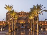 Emirates Palace Hotel, Abu Dhabi, United Arab Emirates, Middle East Photographic Print by Angelo Cavalli