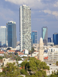 Downtown Buildings Viewed from Hapisgah Gardens (The Summit Garden), Jaffa, Tel Aviv, Israel Photographic Print by Gavin Hellier