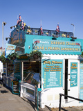 Seafood Stall at South Sands, Scarborough, North Yorkshire, Yorkshire, England, UK, Europe Photographic Print by Mark Sunderland