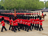 Soldiers at Trooping Colour 2012, Queen's Official Birthday Parade, Horse Guards, London, England Photographie par Hans-Peter Merten