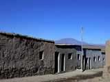 Street in Santiago de Agencha, Southwest Highlands, Bolivia, South America Photographic Print by Simon Montgomery