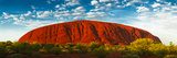 Uluru (Ayers Rock), Uluru-Kata Tjuta Nat'l Park, UNESCO World Heritage Site, Australia Photographic Print by Giles Bracher