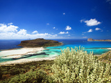 Balos Beach, Gramvousa, Crete, Greek Islands, Greece, Europe Photographic Print by Sakis Papadopoulos