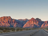 Red Rock Canyon Outside Las Vegas, Nevada, United States of America, North America Photographic Print by Michael DeFreitas