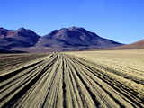 Salvador Dali Desert Dali Valley (Valle de Dali), Southwest Highlands, Bolivia, South America Photographic Print by Simon Montgomery