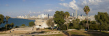 Downtown Buildings Viewed from Hapisgah Gardens Park, Jaffa, Tel Aviv, Israel, Middle East Photographic Print by Gavin Hellier