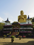 Golden Temple, Dambulla, Sri Lanka, Asia Photographic Print by Jochen Schlenker
