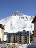 Alpine Ski Resort, Tignes-Le-Lac, Tignes, Savoie, Rhone-Alpes, French Alps, France, Europe Photographic Print by Matthew Frost