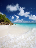 Tropical Beach, Seychelles, Indian Ocean, Africa Fotografisk tryk af Sakis Papadopoulos