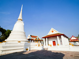 Wat Mani Chonlakhan, a Buddhist Temple in Lop Buri, Thailand, Southeast Asia, Asia Photographic Print by Matthew Williams-Ellis