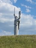 Motherland Statue (Rodina Mat), Kiev, Ukraine, Europe Photographic Print by Graham Lawrence
