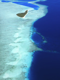 Aerial View, Maldives, Indian Ocean, Asia Photographic Print by Sakis Papadopoulos