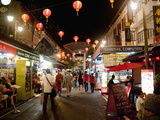 Chinatown Street Market at Night, Singapore, Southeast Asia, Asia Photographic Print by Matthew Williams-Ellis