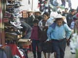 Porter, Chichicastenango Market, Chichicastenango, Guatemala, Central America Photographic Print by Antonio Busiello