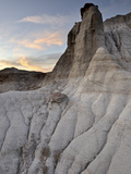 Badlands, Dinosaur Provincial Park, UNESCO World Heritage Site, Alberta, Canada, North America Photographic Print by James Hager