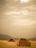Traditional Bedouin Tents in the Sahara Desert, Near Zagora, Merzouga, Morocco, North Africa Photographic Print by Ian Egner