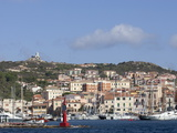 View of the Port, La Maddalena, Maddalena Islands, Sardinia, Italy, Mediterranean, Europe Fotografisk tryk af Oliviero Olivieri