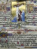 Altar Book, Treasure Museum, Notre-Dame de Paris Cathedral, Paris, France, Europe Photographic Print by  Godong