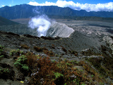 Caldeira and Bromo at 2329m, and Semeru at 3676m, Volcanoes on Java, Indonesia, Southeast Asia Photographic Print by  Godong