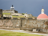 Castillo San Felipe del Morro, Old City of San Juan, Puerto Rico Island, West Indies, USA Photographic Print by Richard Cummins