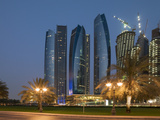 Abu Dhabi, United Arab Emirates, Middle East Photographic Print by Angelo Cavalli