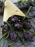 Artichokes in a Bag, Italy, Europe Photographic Print by Nico Tondini