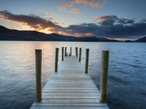 Ashness Jetty, Barrow Bay, Derwent Water, Keswick, Lake District Nat'l Park, Cumbria, England Photographic Print by Chris Hepburn