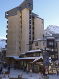 Apartment Blocks in Val Claret, Highest Village in Tignes, Savoie, Rhone-Alpes, French Alps, France Photographic Print by Matthew Frost