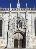 Main Entrance with Carving of Henry Navigator, UNESCO World Heritage Site, Belem, Lisbon, Portugal Photographic Print by Stuart Black