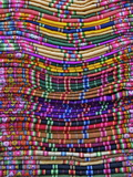 Textiles for Sale in Handicraft Market, La Paz, Bolivia, South America Photographic Print by Simon Montgomery