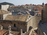 The Harbour and the Walled City of Dubrovnik, UNESCO World Heritage Site, Croatia, Europe Photographic Print by Matthew Frost