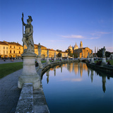 Prato della Valle and Santa Giustina, Padua, Veneto, Italy, Europe Photographic Print by Stuart Black
