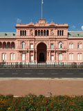 Casa Rosada (The Pink House), Office and Executive Mansion of President, Buenos Aires, Argentina Photographic Print by Ethel Davies