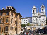 Piazza di Spagna and Spanish Steps, Rome, Lazio, Italy, Europe Photographic Print by Richard Cummins