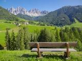 Val di Funes, Bolzano Province, Trentino-Alto Adige/South Tyrol, Italian Dolomites, Italy, Europe Photographic Print by Frank Fell