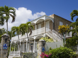 Villa Notman in Kongens Quarter, Charlotte Amalie, St. Thomas Island, US Virgin Islands Photographic Print by Richard Cummins