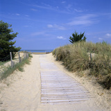 Beach on the West Coast, Ile de Re, Poitou-Charentes, France, Europe Photographic Print by Stuart Black