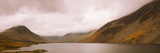 Wast Water with Scafell Pike and Great Gable in Cloud, Lake District Nat'l Park, Cumbria, England Photographic Print by Ian Egner