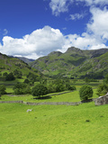 Langdale Pikes, Lake District National Park, Cumbria, England, United Kingdom, Europe Photographic Print by Jeremy Lightfoot