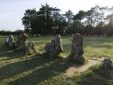 Rollright Stones, Dating from around 2500BC, on Oxfordshire Warwickshire Border, England Photographic Print by Ethel Davies
