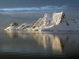 Sunset at Paradise Harbour, Antarctica, Polar Regions Photographic Print by Ethel Davies
