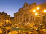 Trevi Fountain, Rome, Lazio, Italy, Europe Photographie par Angelo Cavalli