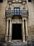 Elaborate Doorway, Ronda, Andalucia, Spain, Europe Photographic Print by Giles Bracher
