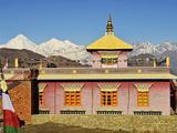 Muktinath and Dhaulagiri Himal, Annapurna Conservation Area, Dhawalagiri (Dhaulagiri), Nepal Photographic Print by Jochen Schlenker